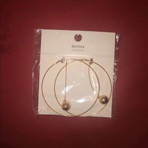 Bershka Hoop Earrings